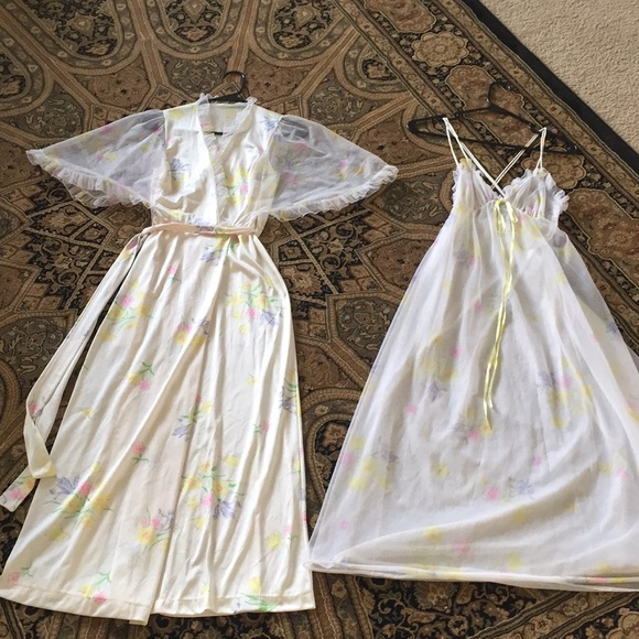 jcpenney Intimates & Sleepwear | Gorgeous Vintage Nightgown And ...